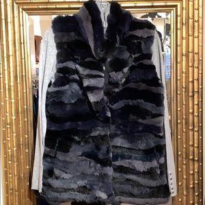 Metric Rabbit fur vest